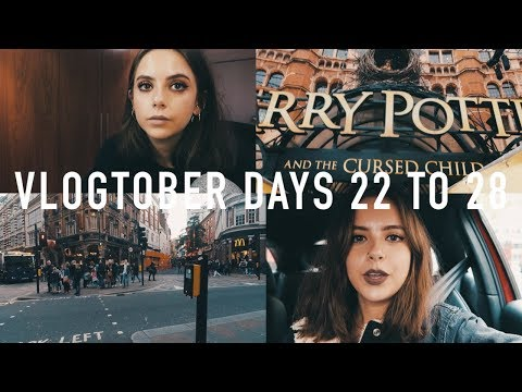 VLOGTOBER 2017 DAYS 22 TO 28: Exploring London, Golf, Topshop Haul + Night Out GRWM | sunbeamsjess