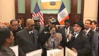 Afrika Bambaataa Hip Hop Proclamation   NYC City Hall March 11th 2014