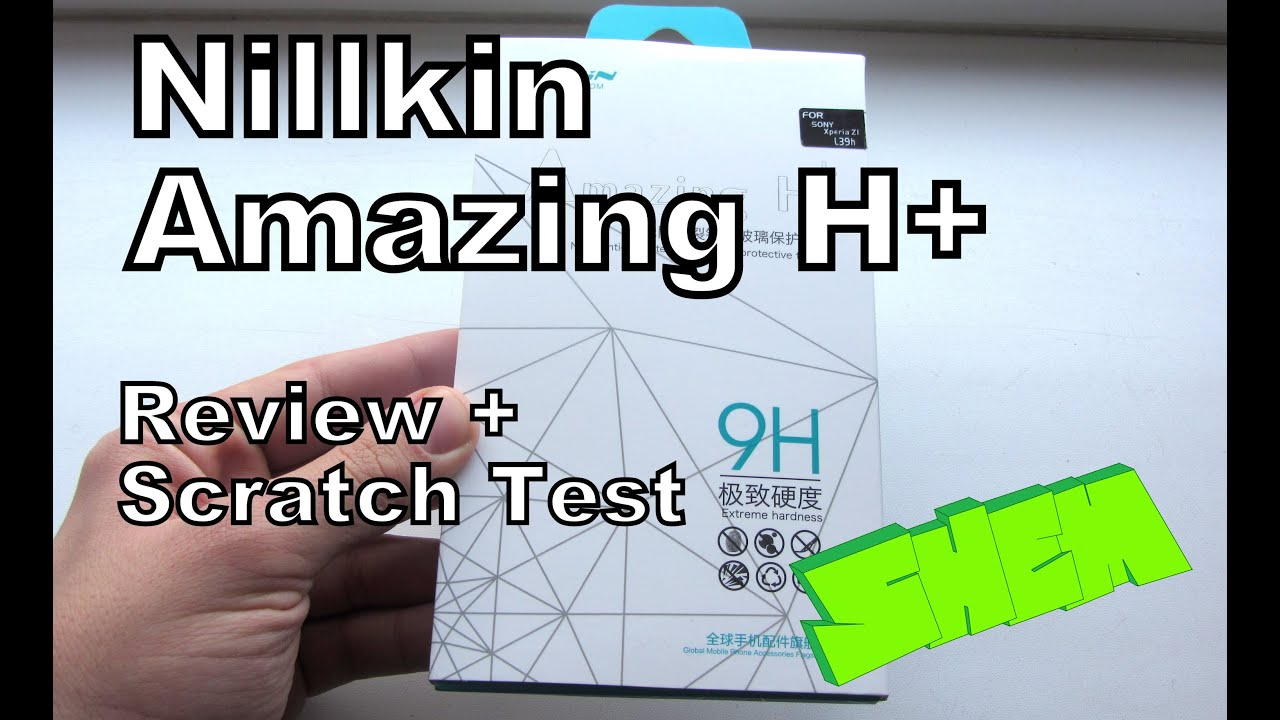 Nillkin Amazing H Glass Protector Review And Scratch Test On Sony Anti Explosion Back Tempered Xperia Z5 Premium Z1