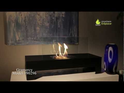 Anywhere Fireplace Gramercy BioEthanol Fireplace - indoors/outdoors