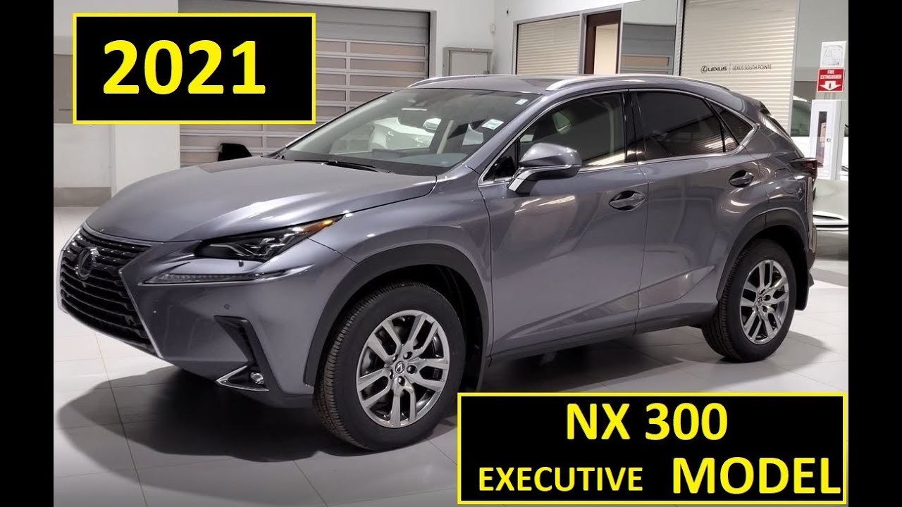 Lexus NX Hybrid Luxury 2021 with the Executive Package Atomic Silver Review of features Walk Around