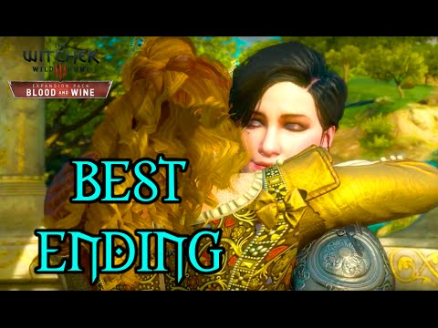 Witcher 3 Blood and Wine - Best Ending - Yennefer Romance - Everyone is Happy