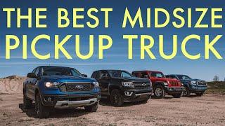 The Best Midsize Pickup: Ranger vs Gladiator vs Tacoma vs Colorado