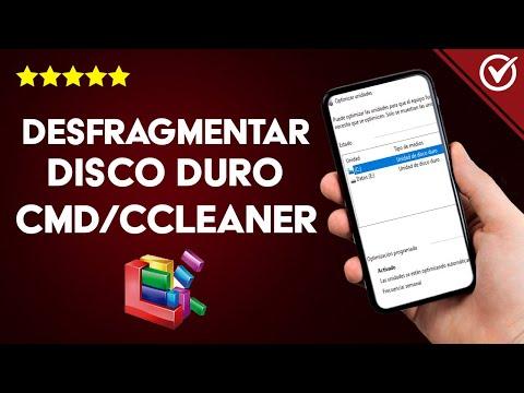Cómo Desfragmentar Disco Duro Desde CMD o Ccleaner en Windows o Linux - Mejorar Rendimiento de tu PC