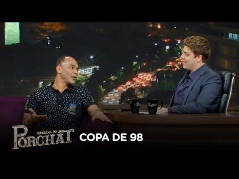 Cafu relembra estado de saúde de Ronaldo na final da Copa de 98