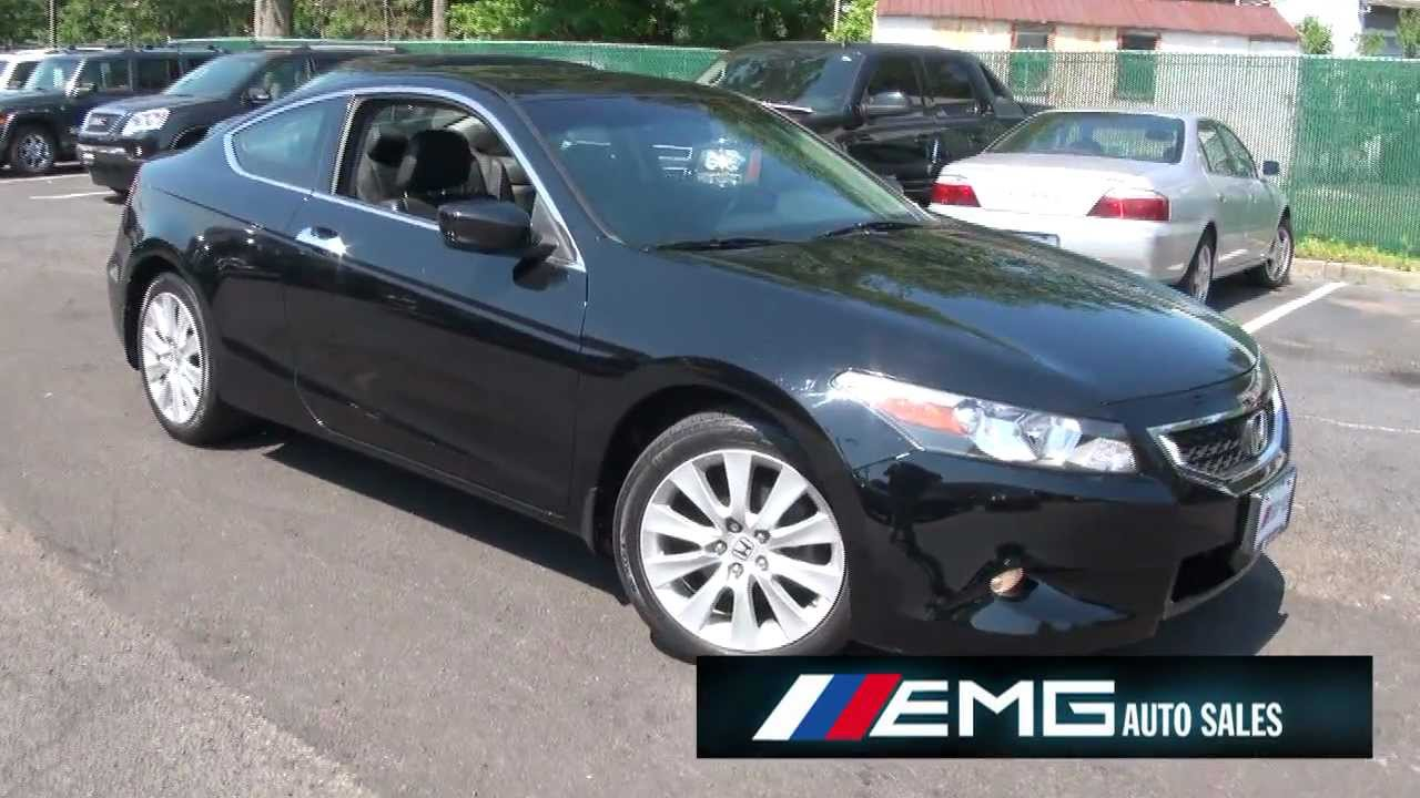 2009 Honda Accord 3.5 V6 EX L 6 Speed Coupe   YouTube