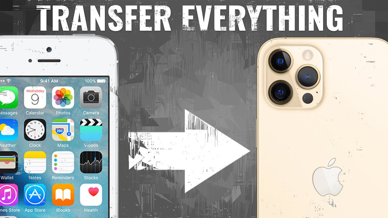 The most popular ways of how to transfer files from iPhone to iPhone