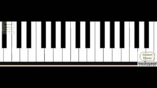 Thandavam theme - Basic piano lessons