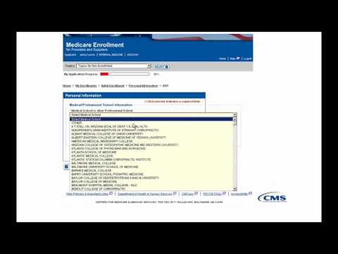 Pecos Enrollment Tutorial Initial Enrollment For An Individual Provider