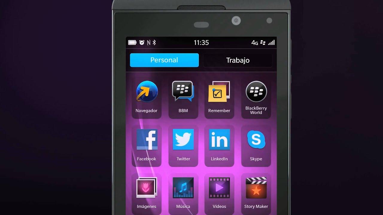 musica con blackberry z10