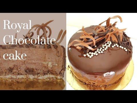[eng/fr/kr]-royal-chocolate-cake-recipe -로얄-초콜릿-케이크-레시피-recette-du-gâteau-royal-au-chocolat
