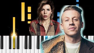 Macklemore feat. Skylar Grey - Glorious - Piano Tutorial