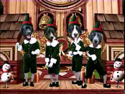 Funny Dogs Singing Christmas Songs - YouTube