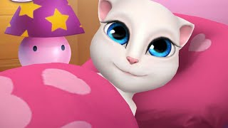 Talking kitty cat My Angela part 1 || kids channel