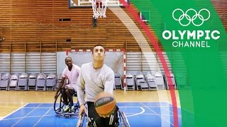 Refugee Paralympian Ibrahim Chases Wheelchair Basketball Dream | Camps to Champs