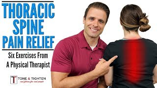 Thoracic Spine Pain | Upper Back Exercises From A Physical Therapist