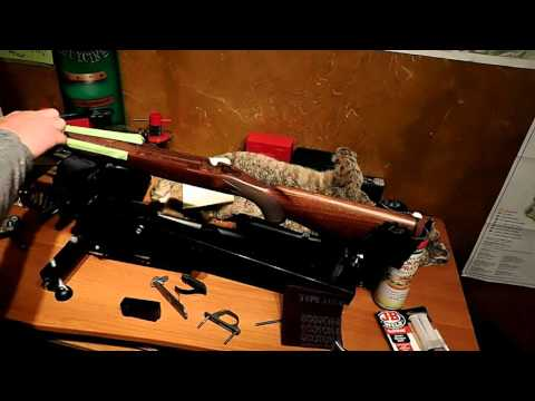How to glass bed your rifle Part 1