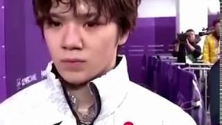 宇野昌磨選手の後ろに松岡修造が… 松岡修造 検索動画 3