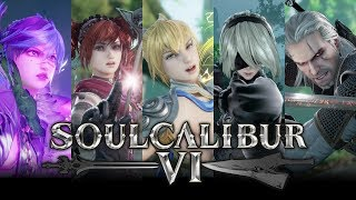 Soul Calibur 6 - All Critical Edge Supers (All Season 1 DLC)