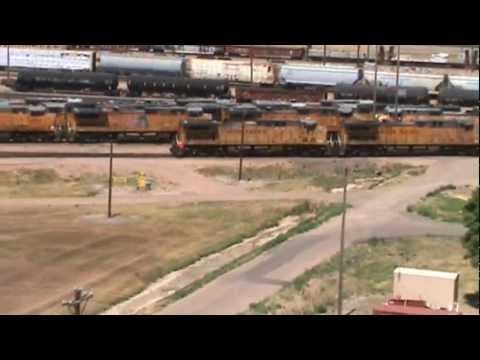 The largest train yard in the world!