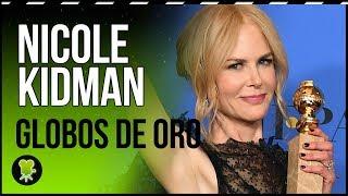 El discurso de Nicole Kidman en los Globos de Oro 2018, traducido al español