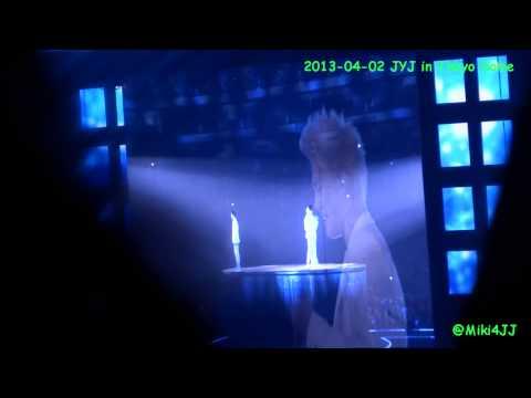 130402 JYJ in Tokyo Dome - Rainy Blue