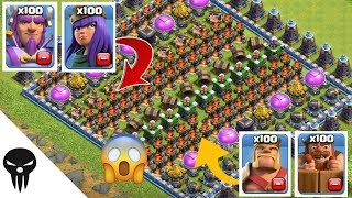Who Can Survive This Difficult Trap On Clash Of Clans | Coc Troops vs Trap #4