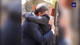 الملك والملكة يقدمان واجب العزاء لذوي الطفل الأردني هاشم الكردي
