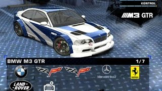 Need for speed most wanted: car mod - bmw m3 gtr e46 2012