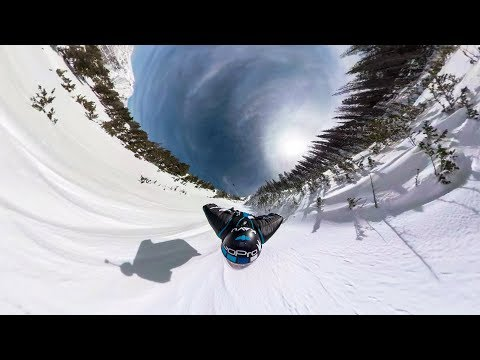 GoPro Fusion: Snowy Proximity Wingsuit with Marshall Miller in 360º 4K VR
