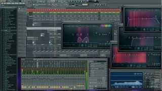 Making a FullOn Psy Trance Track in FL Studio 10 - Sonicoustics HD