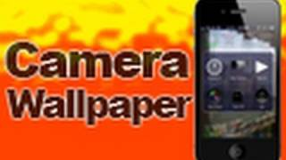 CameraWallpaper - Uses Camera Feed As iDevice Wallpaper