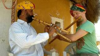 Spontaneous Indian Flute Jam - Tagaram & Praful
