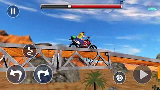 Ramp Bike Impossible Bike Stunt Game 2020 Android Gameplay level 1 to 2 By Android gaming
