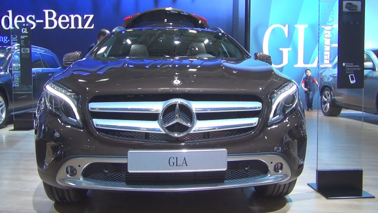 mercedes benz gla 200 urban 2015 exterior and interior. Black Bedroom Furniture Sets. Home Design Ideas