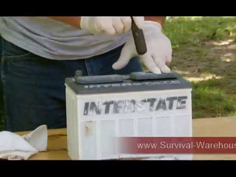 How To Recondition Battery By Survival