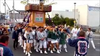 茨城県常陸太田市 の太田まつりです。 鶴龍会による御輿、天神ばやし等...