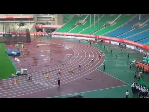 Asian Athletics Championship 2015, Men's 4x100m Final (Wuhan, China)