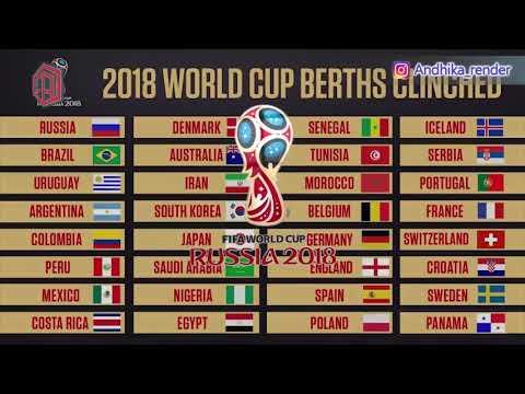 •liga Super• Lagu Syantik Versi Nama Negara {piala Dunia Rusia 2018}