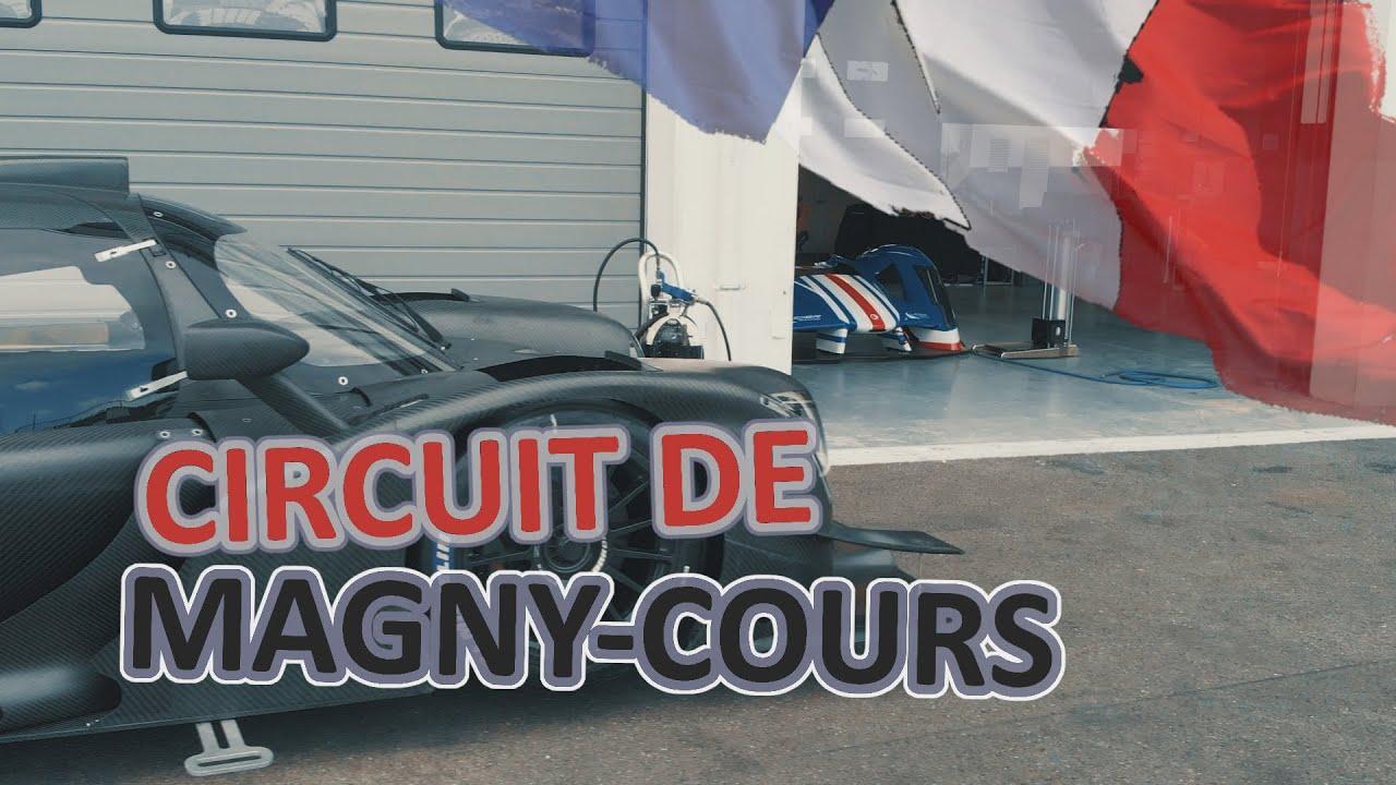 Rennstrecke In Frankreich