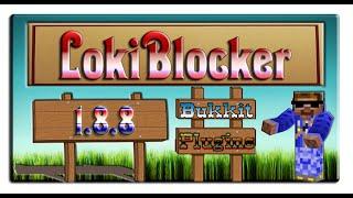 обзор плагина: LokiBlocker 1.8.8 Защита блоков