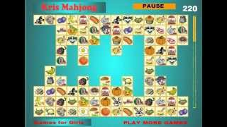 Маджонг Крис Kris Mahjong 3 пазлы Кристины найди пару