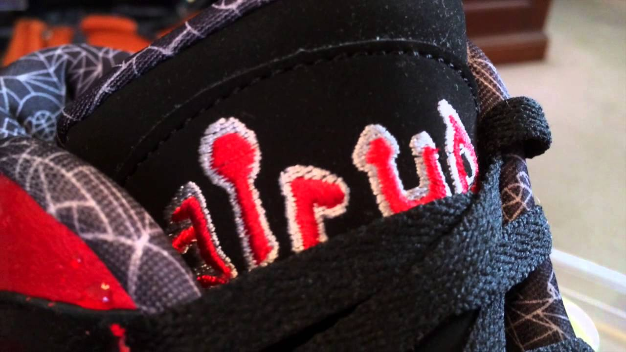 new concept 18a87 801cd Nike Air Up '14 QS - University Red / Black - NOLA ASG Gumbo League release  - 2-16-14 - YouTube