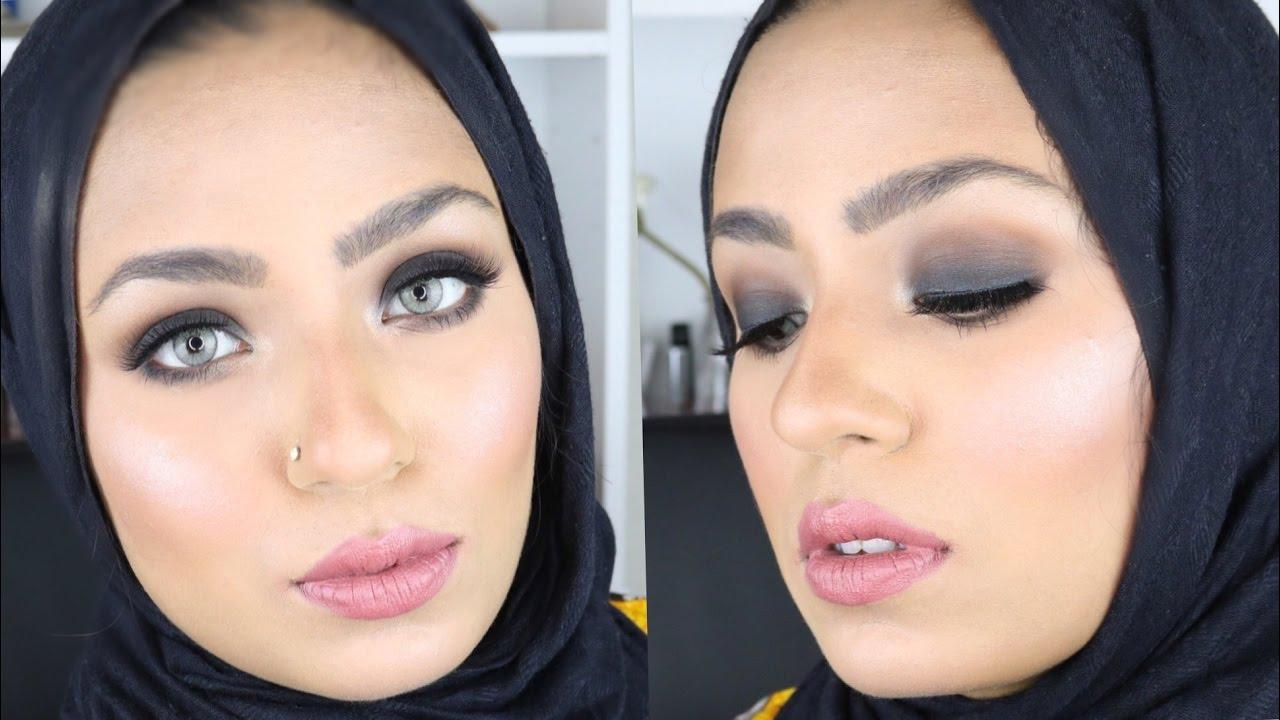 urdu smokey eye makeup tutorial - detailed