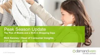 Deborah Weinswig Presents Holiday Shopping Results – Shoppers Changing Places