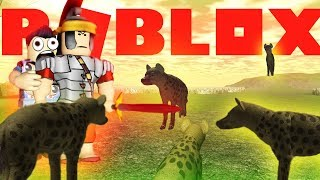 Wild Savannah Roblox - HYENA ARENA!! - Survival Roleplay (Let's Play with Gameplay)