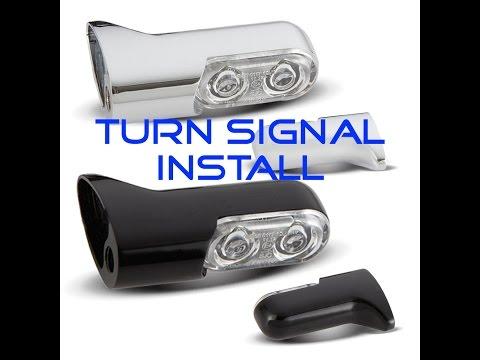 Arlen Ness Front Turn Signal Installation Tutorial Harley Baggers