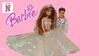 Кукла Барби Невеста в свадебном платье Жених Кен Игрушки для девочек Barbie Wedding doll