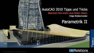 Autocad 2010: Parametrik Ii