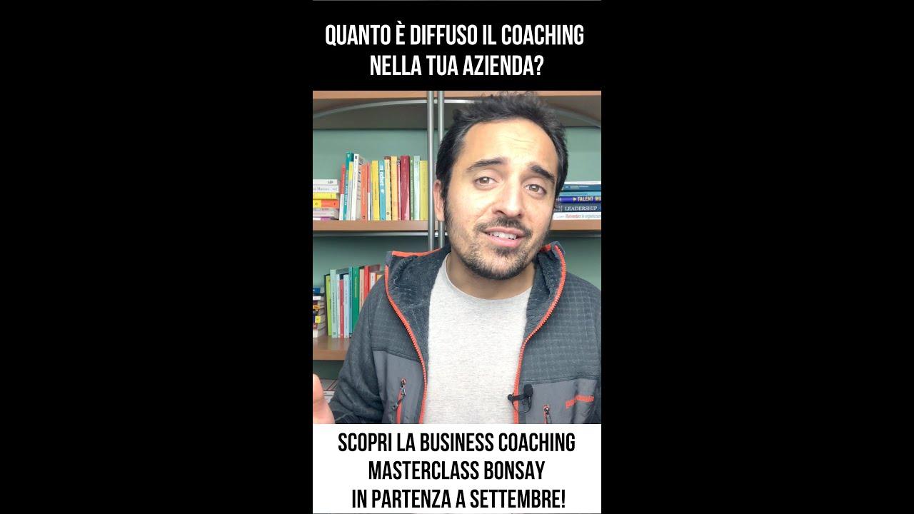 Quanto è diffuso il coaching nella tua azienda? 🙄 🛸